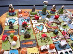 SAMPLE...MyLand puzzles / APRIL 2015...SAMPLE by elukka on Etsy