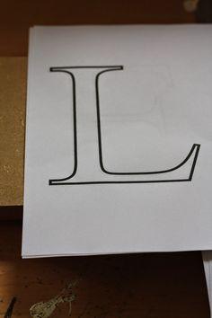 HerzStück - Holzbuchstaben selbst machen, wood letters DIY