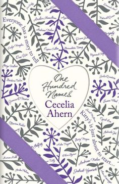One Hundred Names bu Cecelia Ahern. You cant beat a good chick lit book when you are on holiday!Cannot wait to get this book! My favorite author! New Books, Good Books, Books To Read, Reading Lists, Book Lists, Reading Nook, Love Book, So Little Time, Bestselling Author