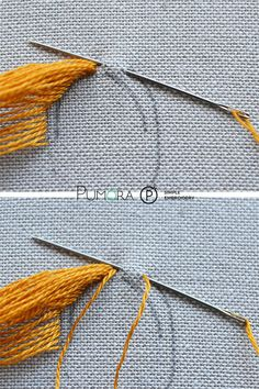 How to embroider hair - Pumora Handstickerei Hair Making, # handgefertigte Muster # handgefertigt - Mode Trends Embroidery Library In The Hoop Embroidery Stitches Tutorial, Hand Embroidery Patterns, Embroidery Techniques, Sewing Patterns, Embroidery Supplies, Silk Ribbon Embroidery, Embroidery Hoop Art, Cross Stitch Embroidery, Diy Broderie