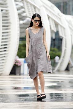 ingle Big Pocket Dress