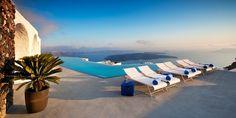 Greece – Grace Santorini, Santorini Santorini Hotels, Imerovigli Santorini, Greece Hotels, Santorini Greece, Most Luxurious Hotels, Hotels And Resorts, Best Hotels, Villa, Pool Lounge Chairs