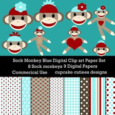 Sock Monkey Elements