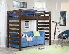 Cherry Twin Over Full Bunk Beds as well Dawsons Ridge Vertical Mirror ...