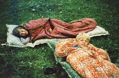 A soviet family from the 70s. How are those airbeds?
