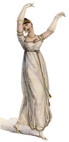 Notes and illustrations on Regency clothing styles, with 1895 Charles E. Brock illustrations for Jane Austen's Pride and Prejudice