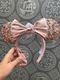 Want A Pair of Rose Gold Minnie Ears? Here's Your Chance To WIN A Pair!