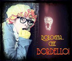 """Domenica 22 febbraioore 18.00 """"Bologna...che bordello!"""" Divertente spettacolo itinerante guidati dalla Zdåura sull'attività che per decine di anni """"ha dato una mano"""" all'economia della città. Tea..."""