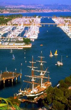 Tall Ships Festival 9/6-9/8 2013. Dana Point Harbor, Orange County.