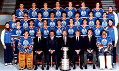 Second Stanley Cup Ice Hockey Players, Hockey Goalie, Nhl Players, Hockey Teams, Wayne Gretzky, Stanley Cup Champions, Good Old Times, Edmonton Oilers, Cutaway