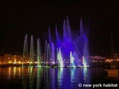 The waterfront light show in Saint Savournin, #Provence France http://www.nyhabitat.com/south-france-apartment/furnished/1172