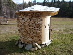 DIY Meditation Temple Built from Salvaged Materials by Aaron Westgate
