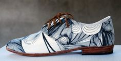 Justine ASHBEE artists Oxford Osborn Shoe