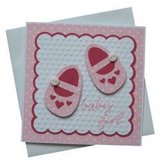 home made baby cards - Google Search