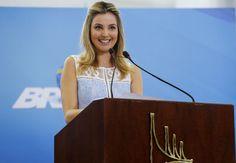 Brasília - A Primeira-dama Marcela Temer durante cerimônia de Lançamento do Programa Criança Feliz. (Carolina Antunes/PR)