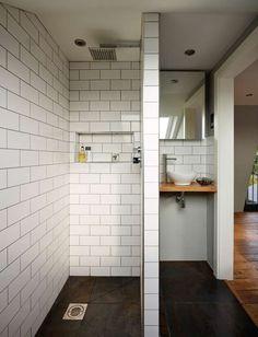 Shower wetroom in Victorian loft conversion