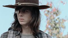Einstein took Science, We took Hardyness — Carl Grimes is just so done. Carl The Walking Dead, The Walking Death, Walking Dead Series, Carl Grimes, Chandler Riggs, Aesthetic Gif, Aesthetic Pictures, Daryl Dixon, The Avengers