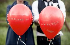 Save the Date Balloons