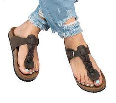 2109e65c316cb Women s Flat Buckled Outdoor Sandals