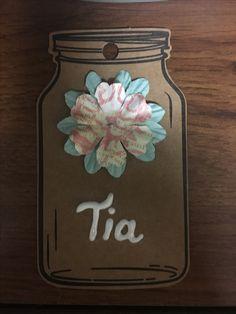 Gafetes de Tia