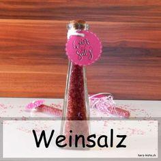 Geschenkidee: Weinsalz selbermachen