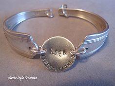 spoon handle bracelet...cute