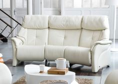 Himolla Chester 3 Seater Curved Recliner