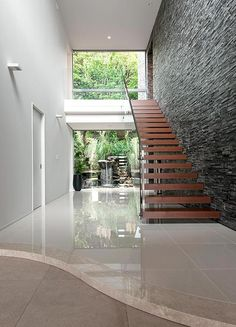 Garden Entrance, House Entrance, Arch House, My House, Modern Interior Design, Interior Design Living Room, Japanese Modern House, White Exterior Houses, Entrance Design