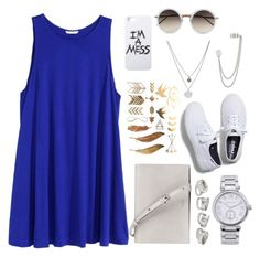 """Silver white"" by tiffcso on Polyvore"