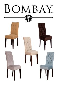 Comfort. Aesthetics. Quality craftsmanship. Affordability. Bombay™ brings you their dining chair set that gives you everything you need to take dining to the next level. Complement your dining space with two, four, six, or however many chairs your heart desires for immediate, practical beauty. Many Styles and colors to choose from and Aways Free Shipping!!