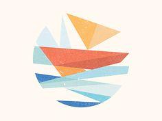 Sailing by Yoga Perdana, view on dribbble: http://ift.tt/1o90HQc