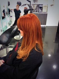 Copper ombre #autmn #copper #dipdye