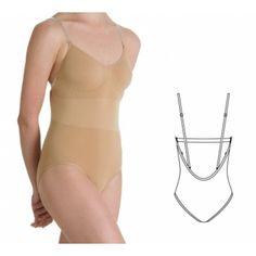 Bloch Aries Seamless Brief Body Suit