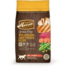 The Best Dog Ever deserves the Best Food Ever. That's why Merrick's grain-free recipes provide only the best to your best friend in quality, nutrition and t Best Dog Food, Best Food Ever, Dry Dog Food, Pet Food, Puppy Food, Top Dog Food Brands, Top Dog Foods, Whole Food Recipes, Dog Food Recipes
