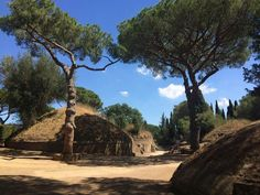 Ancient Caere necropolis at Cerveteri #Etruscans