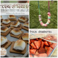 Oven SMores, Fruit