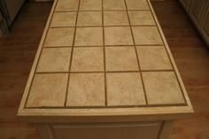 Covering Tile Countertops | Stretcher.com - Ways to improve the look of old tile countertops.