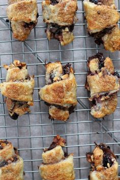 Chocolate Cherry Rugelach - A perfect treat for your honey, or a friend. With step-by-step directions from MotherWouldKnow.com