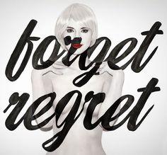 Aishti / Aizone FW12 Campaign. Jessica Walsh via we love typography