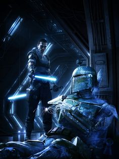 5 key art pieces created and produced along with LucasArts, for the marketing campaign of the game.  * Images … Details +