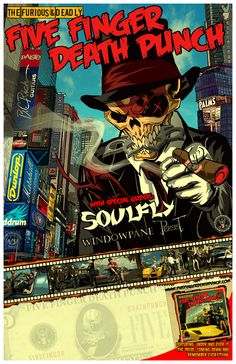 Five Finger Death Punch & Soulfy Tour Dates!