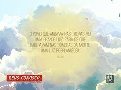 Deus Conosco todos os dias!