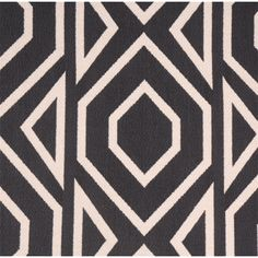 This is a black and natural woven geometric design upholstery fabric by Swavelle Mill Creek Fabrics, suitable for any decor in the home or office. Perfect for pillows, cushions and furniture.v112AEF