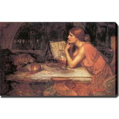 John William Waterhouse 'The Sorceress' Canvas Art | Overstock.com