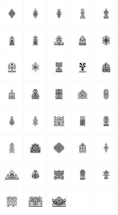 Henman Pictograms - PT Henman Pictograms™ was based on Armenian ornaments revived by Henrik Mnatsakanyan,...
