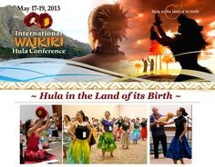 Honolulu, HI 3 days, 40 kumu hula, choose from 80 workshops & seminars.     Modern and ancient hula, chant, history, costume, lei-making, Hawaiian language, songs, music, implement-making -10 Ho`ike H… Click flyer for more >>