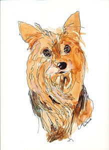 Molly....Watercolor
