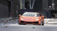 Lamborghini Huracan leaked spy video