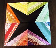 I have had several requests for a tutorial on how to make my Rainbow Starburst String Block that I have had both my BeeJeebers Bee and my St...