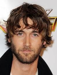 The shaggy look is a hair style that can work well on men in the early stages of recession.